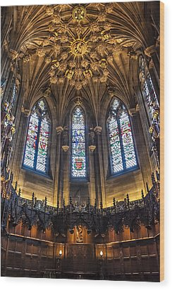 St.giles Cathedral Wood Print by Svetlana Sewell