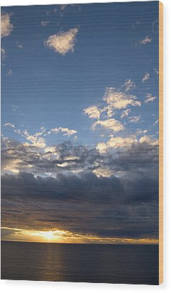 Wood Print featuring the photograph Stormy Sky by Bob Pardue