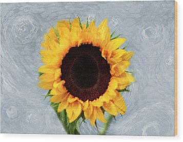 Wood Print featuring the photograph Sunflower by Bill Howard