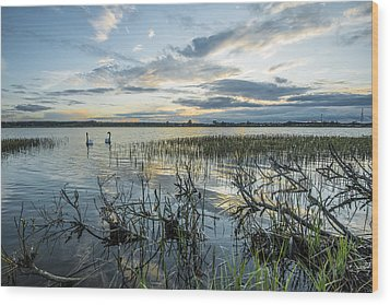 Wood Print featuring the photograph Sunset by Jaroslaw Grudzinski