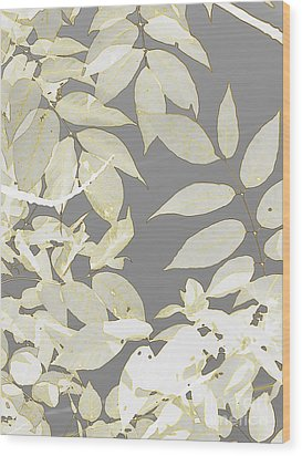 Tapestry Wood Print by France Laliberte
