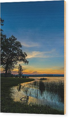 Tennessee Sunset Wood Print