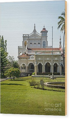 The Aga Khan Palace Wood Print