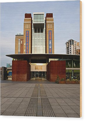 The Baltic - Gateshead Wood Print by Stephen Taylor
