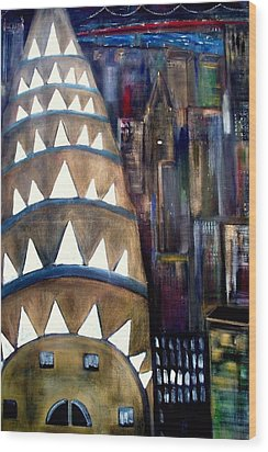 The City That Never Sleeps  Wood Print by Rick Todaro