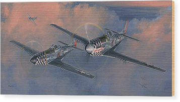 The Duxford Boys Wood Print by Wade Meyers