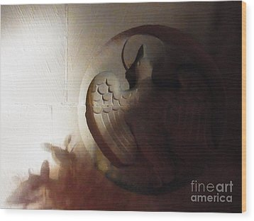 The Holy Spirit Wood Print