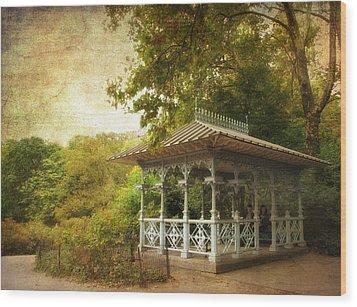 The Ladies Pavilion Wood Print by Jessica Jenney