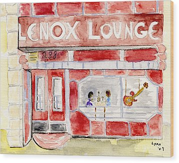 The Lenox Lounge Wood Print