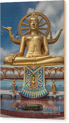 The Lord Buddha Wood Print by Adrian Evans