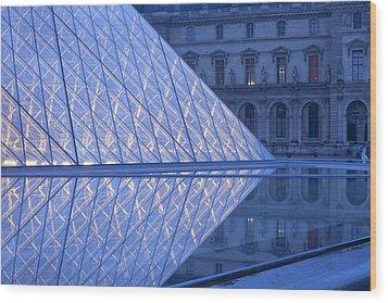 The Louvre Paris Wood Print