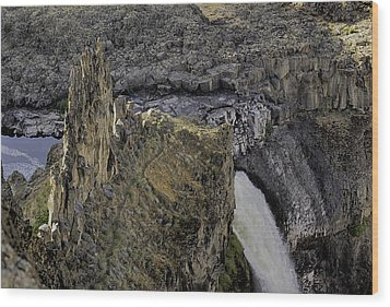 The Palouse Falls Wood Print by Gary Neiss