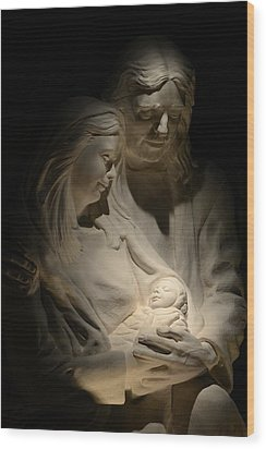 The Reason For The Season Wood Print by T C Brown