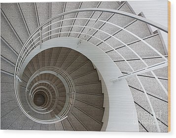 The Spiral  Wood Print by Hannes Cmarits