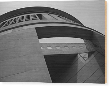 Wood Print featuring the photograph The United States Holocaust Memorial Museum by Cora Wandel