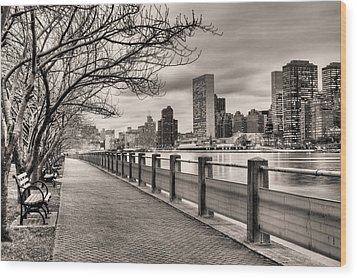 The Walk Wood Print by JC Findley