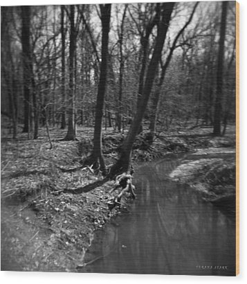 Thorn Creek Wood Print