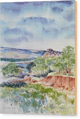Timbercreek Canyon Wood Print