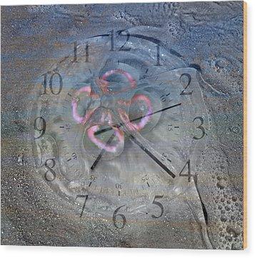 Timing Wood Print by Betsy Knapp