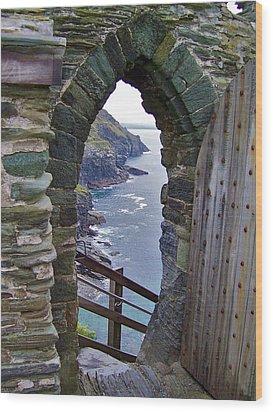 Tintagel Portal Wood Print