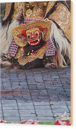 Traditional Dance - Bali Wood Print