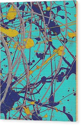 Traveling Fast Inside His Dreams Wood Print by Sir Josef - Social Critic -  Maha Art