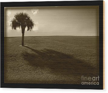 Tree Wood Print by Bruce Bain