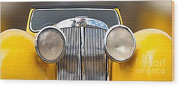 Triumph Roadster  1946 Wood Print by Evgeniy Lankin