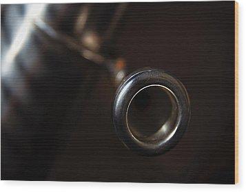 Wood Print featuring the photograph Tuba No. 4 by Chuck De La Rosa