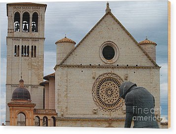 Wood Print featuring the photograph Turning Point --st. Francis Of Assisi by Theresa Ramos-DuVon