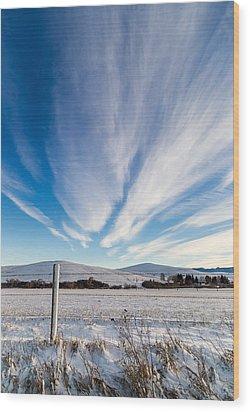 Under Wyoming Skies Wood Print