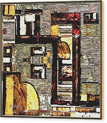Untitled 350 Wood Print by Nedunseralathan R