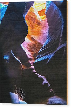 Upper Antelope Canyon Wood Print