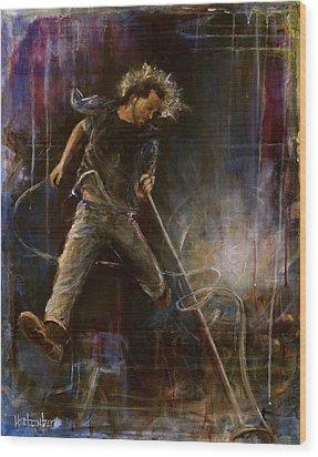 Vedder Wood Print