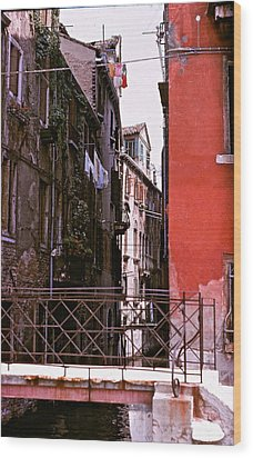 Wood Print featuring the photograph Venice by Ira Shander