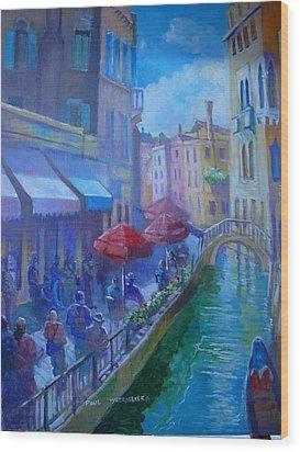 Venice  Italy Wood Print by Paul Weerasekera