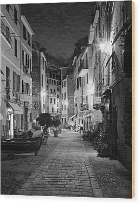 Vernazza Italy Wood Print