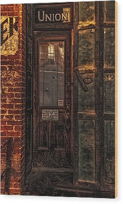 Wood Print featuring the photograph Virginia City Brewery by Nancy Marie Ricketts