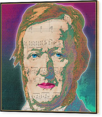 Wagner Wood Print by Gary Grayson