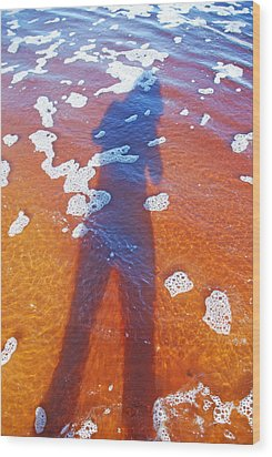 Wood Print featuring the photograph Water Babe by Ankya Klay