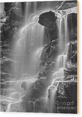 Waterfall 05 Wood Print by Colin and Linda McKie