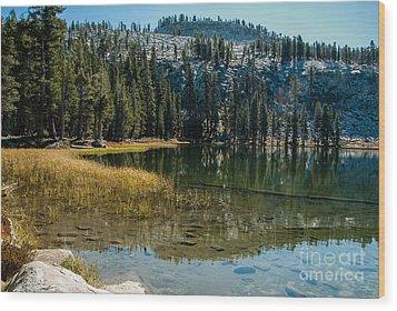 Weaver Lake- 1-7686 Wood Print