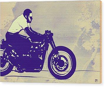 Wheels Wood Print by Giuseppe Cristiano