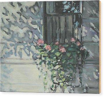 Window On Beacon Hill Wood Print