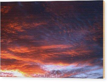 Windows Of Heaven Wood Print by Julia  Walsh