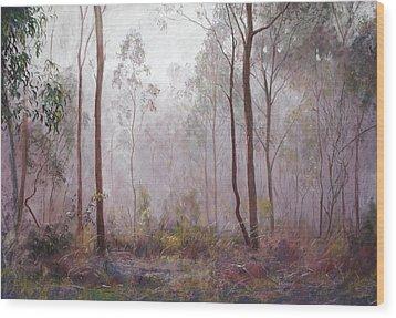 Winter At Wickham Wood Print by Lynda Robinson