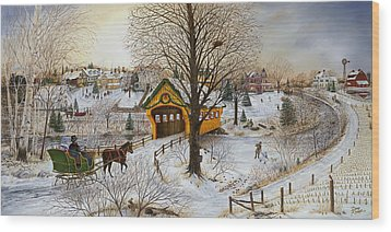 Winter Memories Wood Print by Doug Kreuger