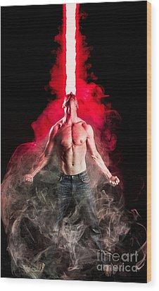X-men Cyclops  Wood Print by Jt PhotoDesign