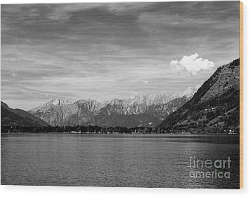 Zell Am See Wood Print