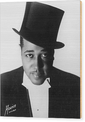 Duke Ellington (1899-1974) Wood Print by Granger